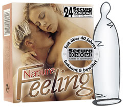 PRESERVATIVOS NATURE FEELING (24 UN)